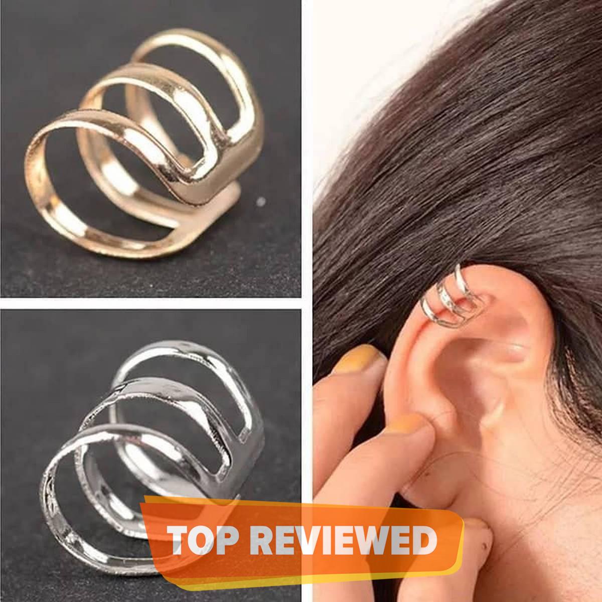 single piece 03Round Girls Earrcuff Hot korean Trendy Fashion Ear cuff Women jewellery Drop Earring