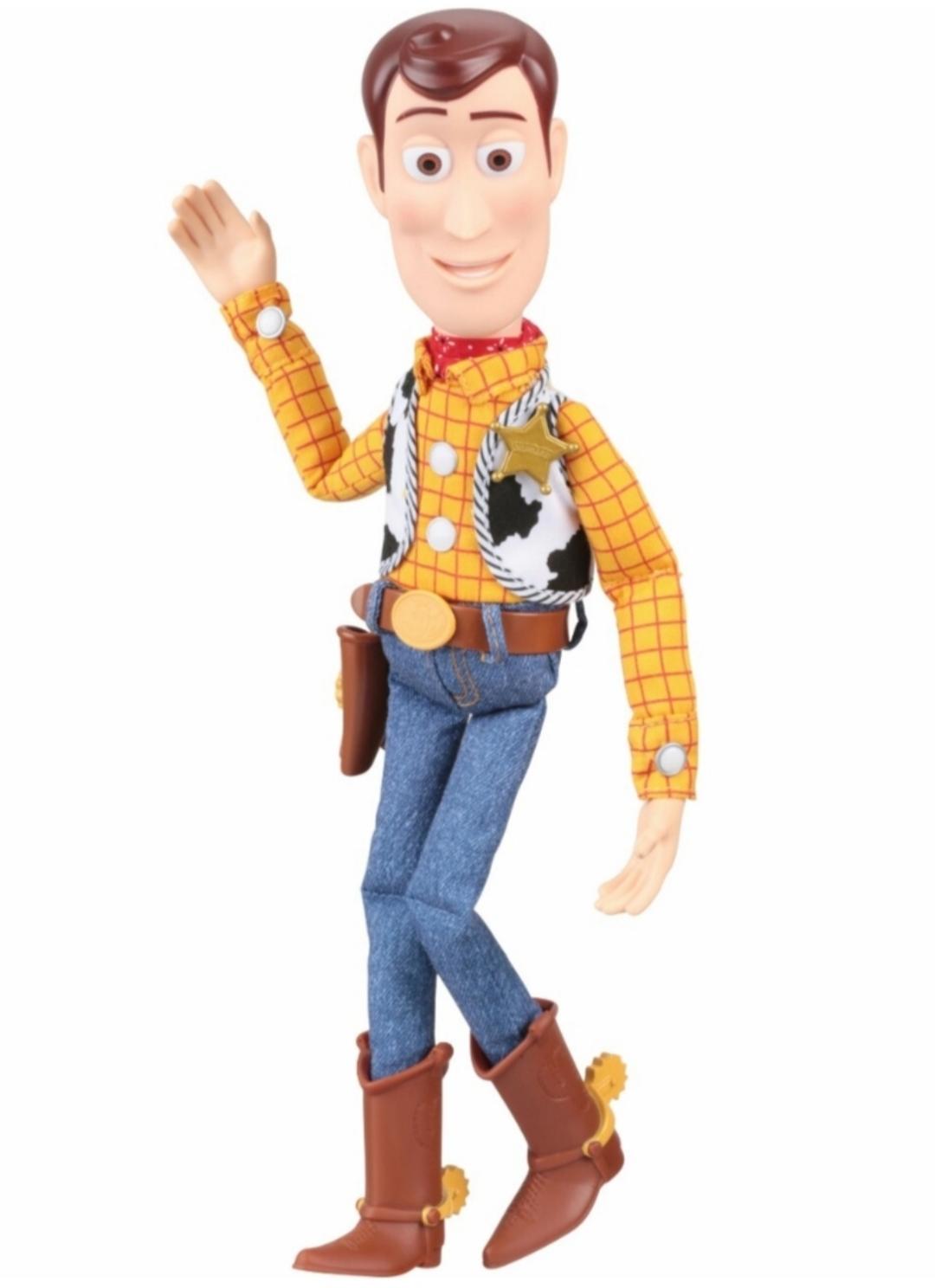Toy Story 4 Sheriff Woody Doll Plush Soft Stuffed Toy