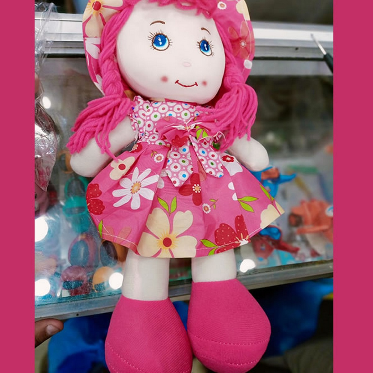 Washable Toy Doll for Baby Girls (Stuffed Doll)