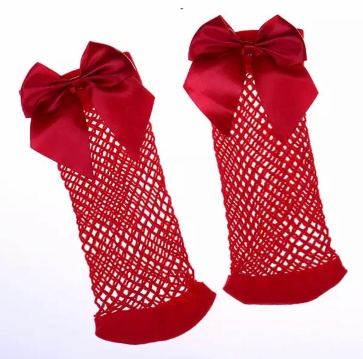 Fishnet Socks  Net Socks  Mesh Socks  Baby Girl Socks  Bow Knot Fishnet Socks  Teeberry Accessories Fish Net Socks  Top Quality Stretchable Mesh Socks