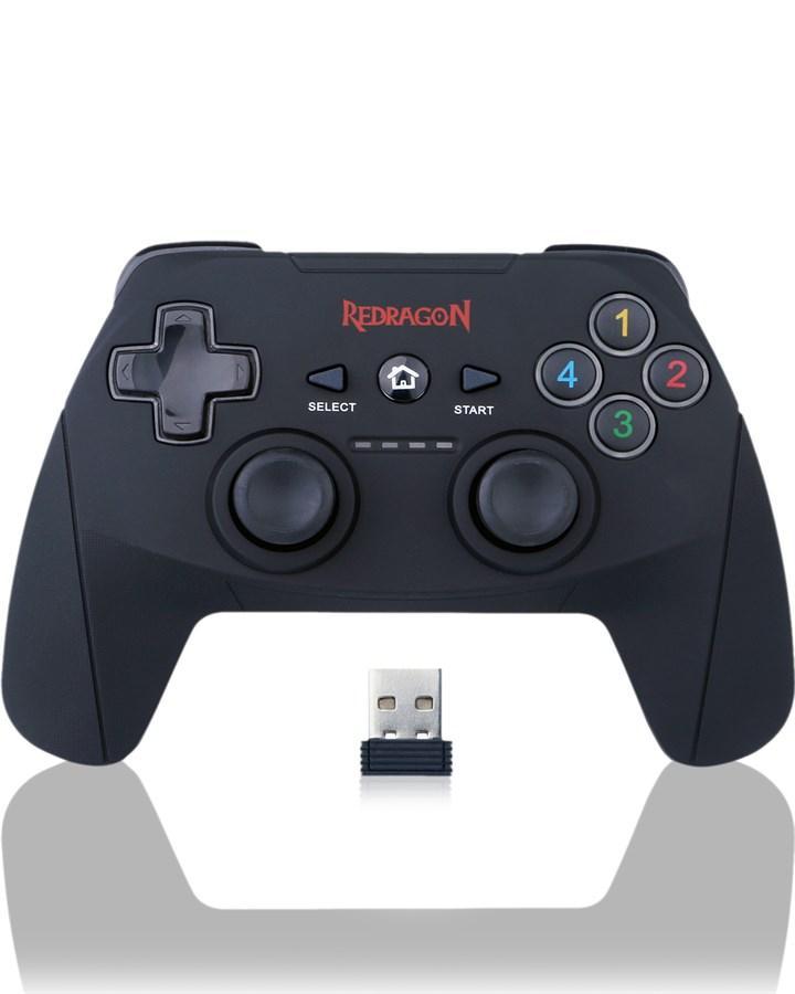 Redragon G808 Harrow Wireless Game Controller, Wireless Controller,  Wireless Gamepad, Gamepad