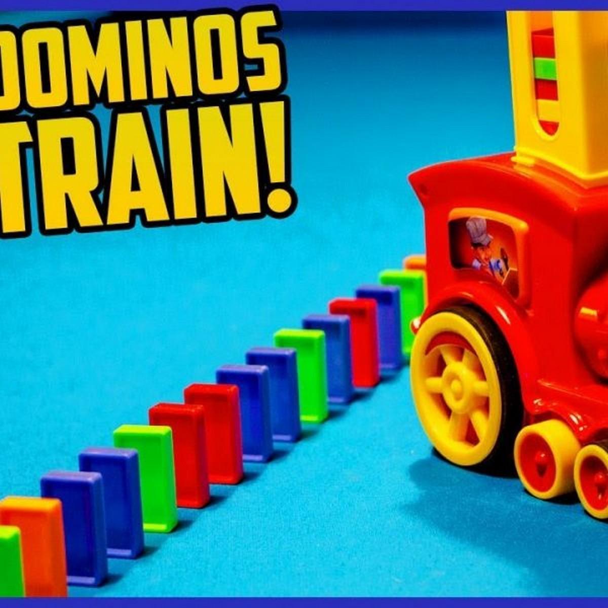Domino Train Toy