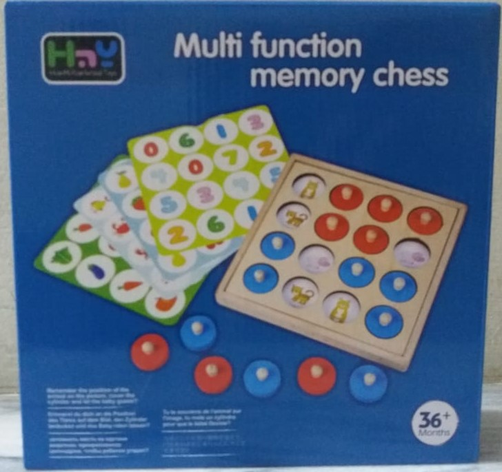 Toys Factory Multi Function Memory Game for Toddlers Kids Educational Toys