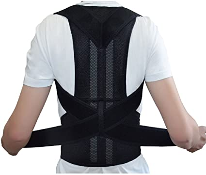 Adjustabale Back Support Posture Corrector Brace Posture Correction Belt  for Men Women: Buy Online at Best Prices in Pakistan | Daraz.pk