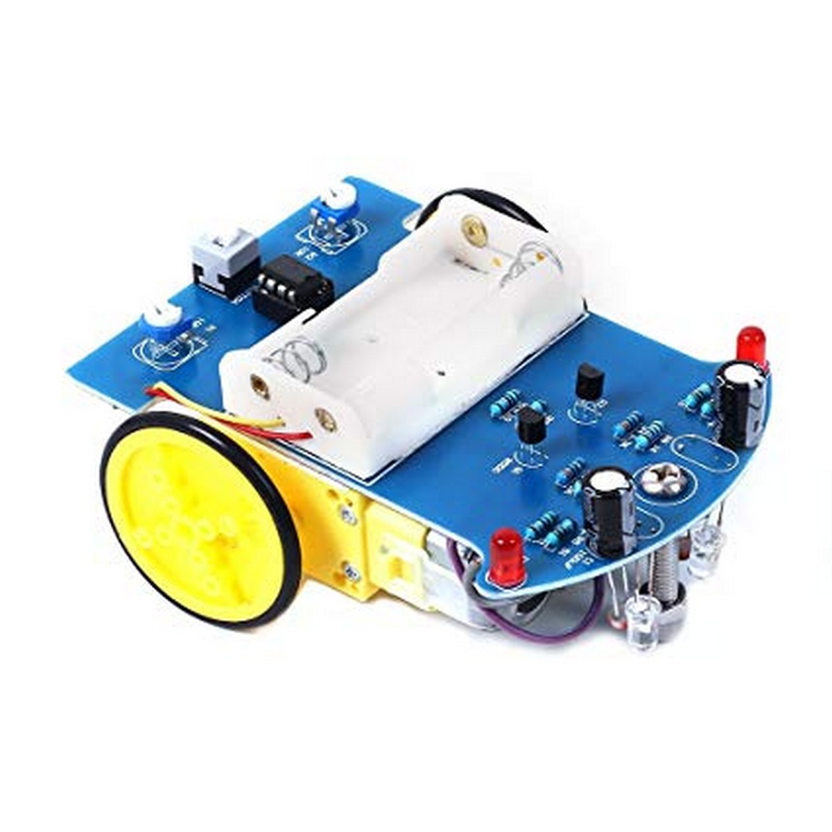 DIY Smart line Following Robotic Car Kit