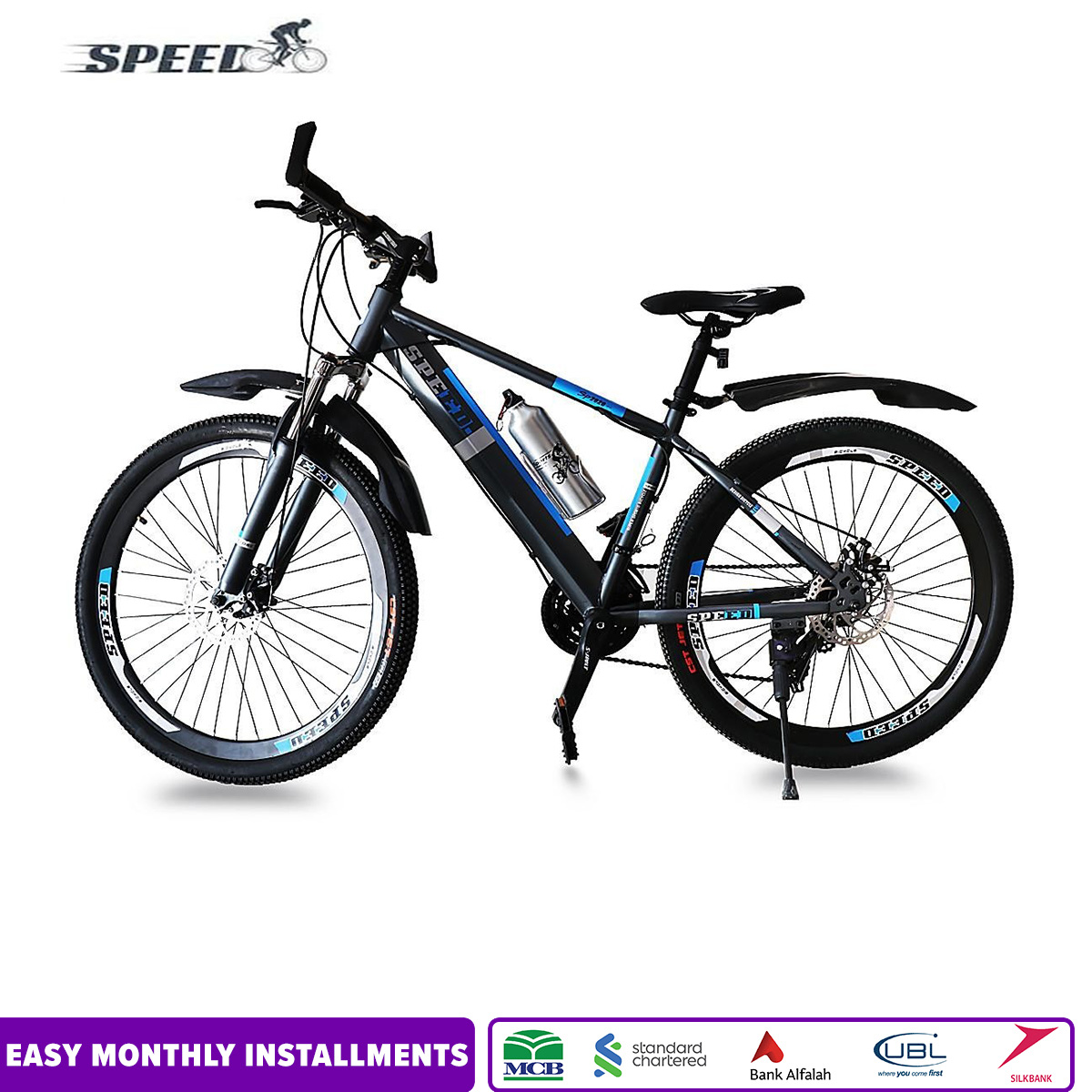 Bicyclone Presents New Bike-Bicycle Speed 26 Inches- 2 Years Warranty