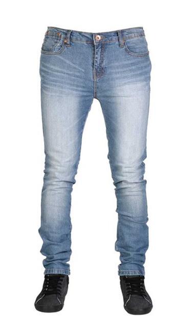 6549b435c Men's Narrow Stretchable Light Blue Jeans