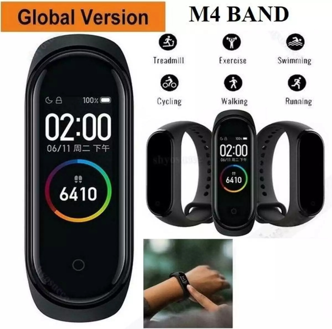 M4 Smart Wristband IOS Smart Bracelet with Replacement Straps Smart Band Heart Rate Activity Fitness Tracker Smart Watch M4 Pro vs M3 Band