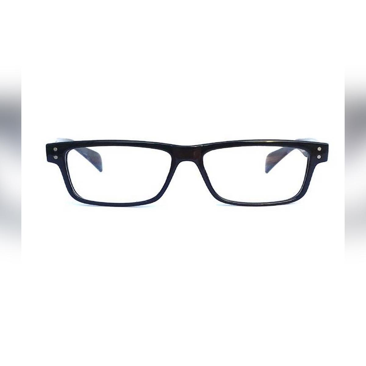 Black Frame Clear Lens Frame Glasses For Men And Women