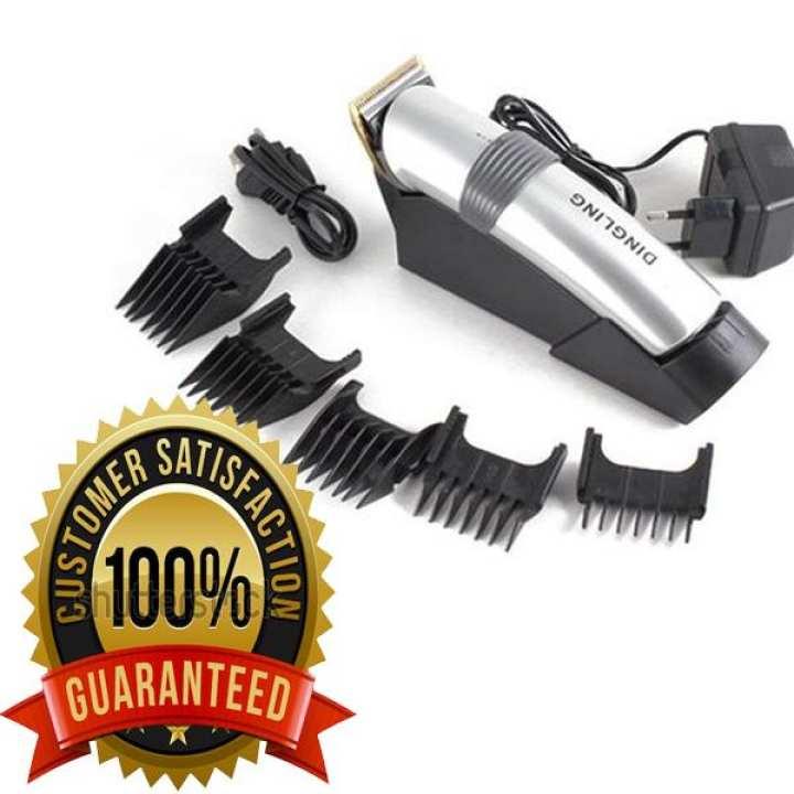 100% ORIGINAL (DINGLING 609) Shaving  Machine - Hair & Beard Trimmer For Men