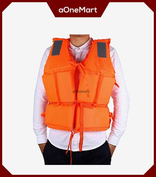 Swimming Life Jacket - Orange