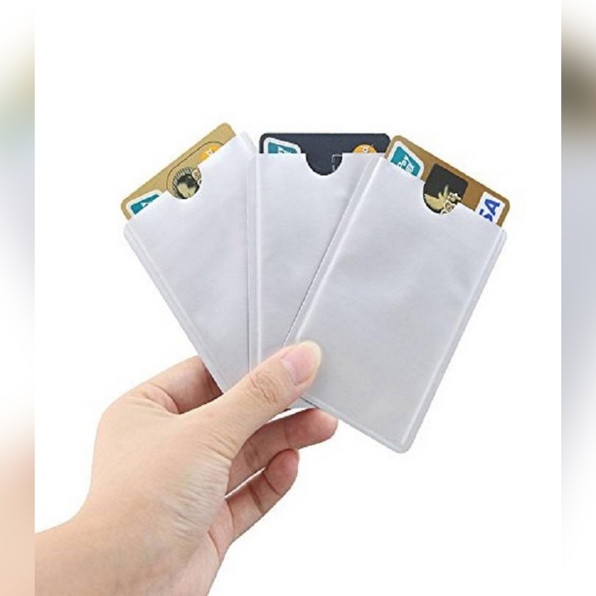 10Pcs Sleeve Anti Theft NFC Card Cover