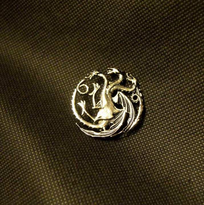 Targaryen Brooch