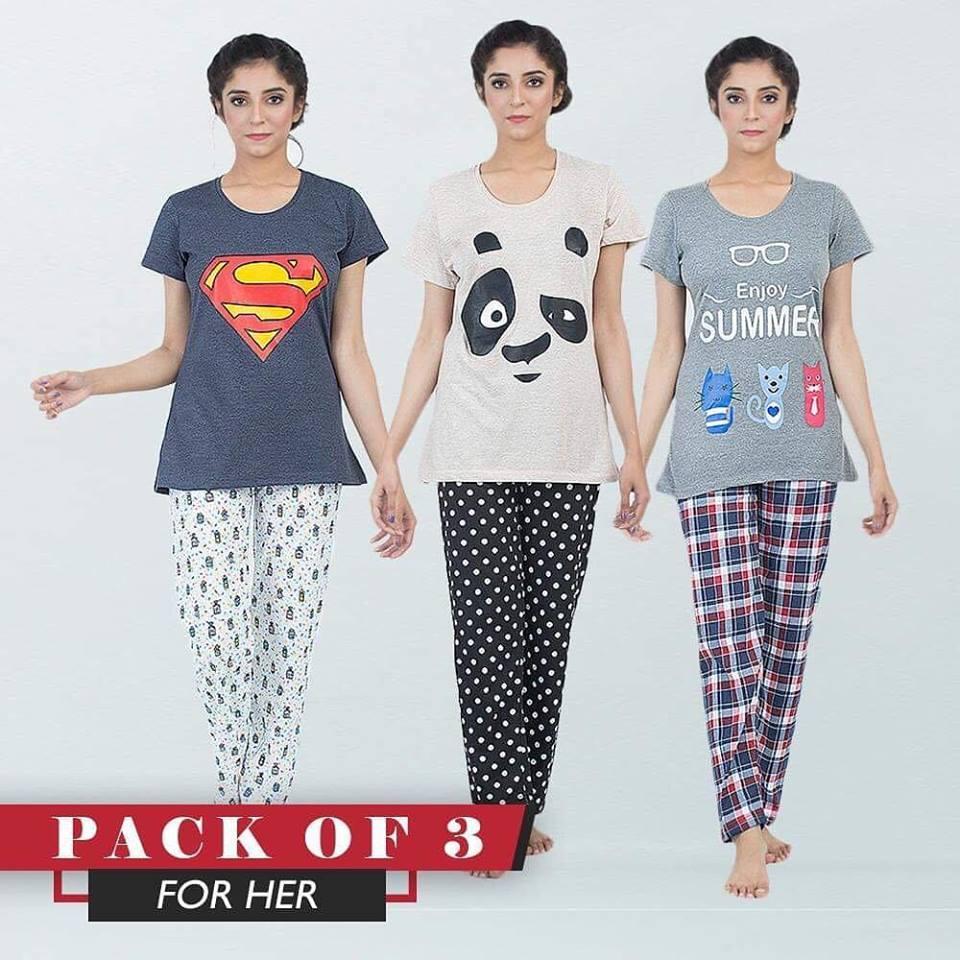 2319bd403c1f Buy Nighty Dresses & Suits @ Best Price in Pakistan - Daraz.pk