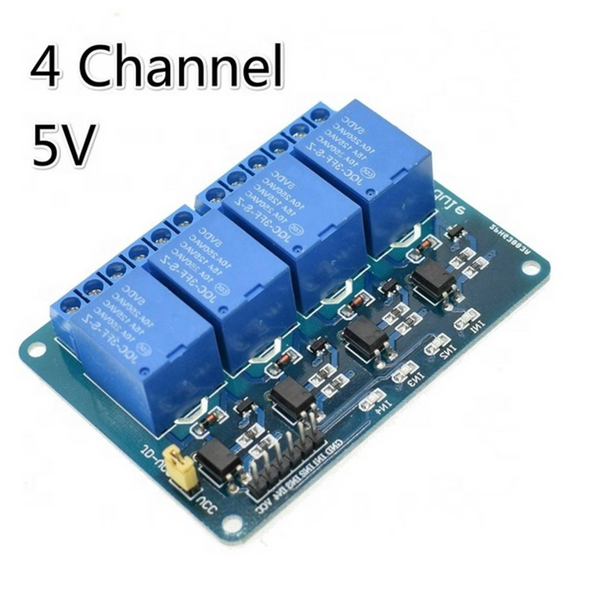 5V 4 Channel Relay Module for Arduino 4 way Relay Board