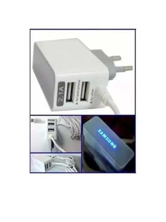 Samsung charger for android phone with 2 USb Charger