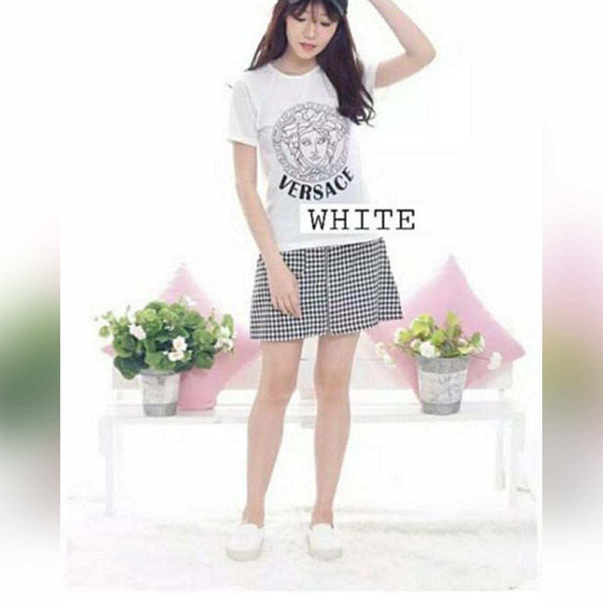 White Versac T-shirt For Her