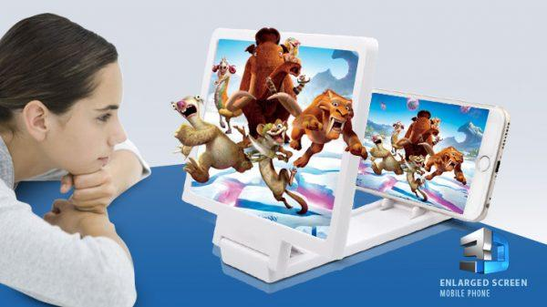 3d Screen Magnifying Projector Enlargerr F1 for Any Mobile - Good Quality