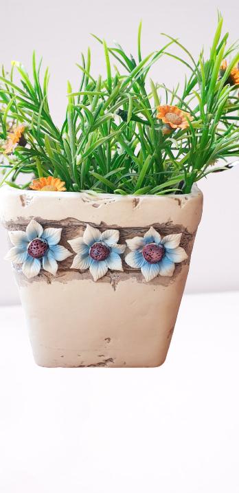 Blue & White Vintage ceramic vase