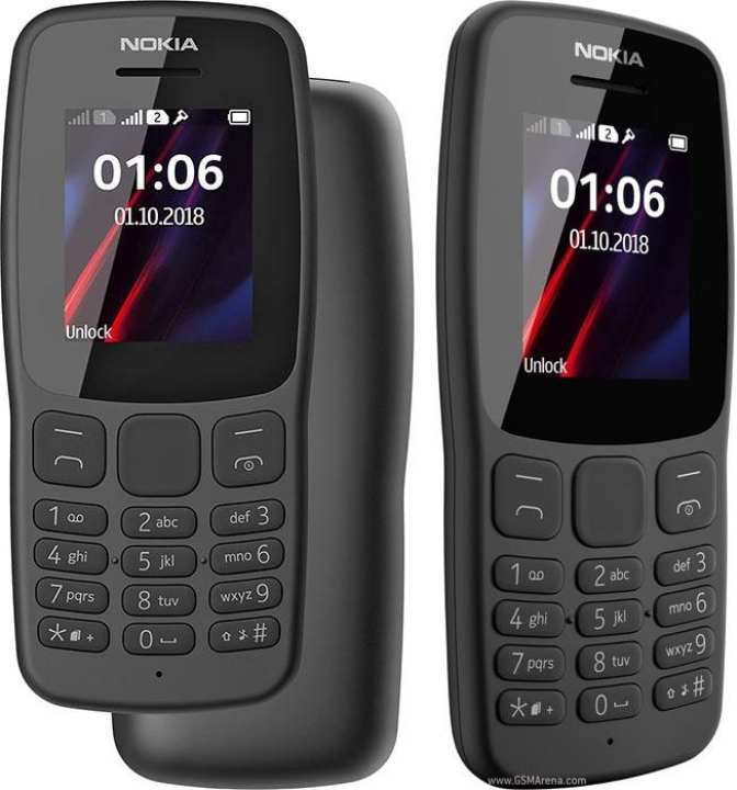 New Nokia 106 2018 Dual Sim High Quality Keypad 2000 Contact