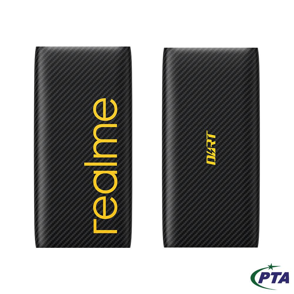 realme Dart Power Bank -  10000mAh - 30W Charge - Dual Output Ports (USB-A & USB-C)
