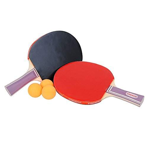 Pack of 5- Table Tennis rackets with 3 Free Balls