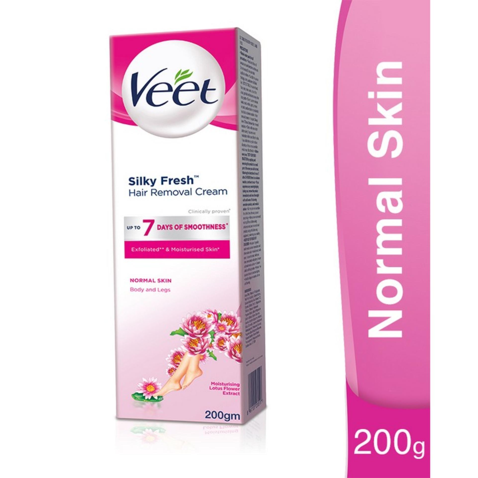Veet Cream Normal 200gm For Hair Removal Buy Online At Best