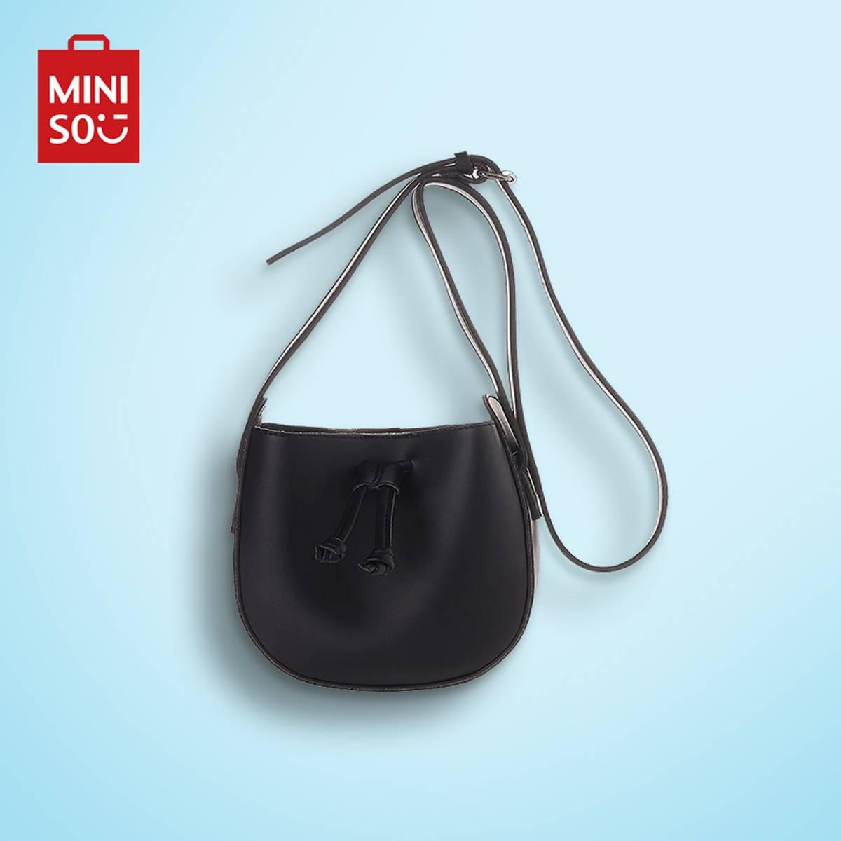 Crossbody Bag(Black)