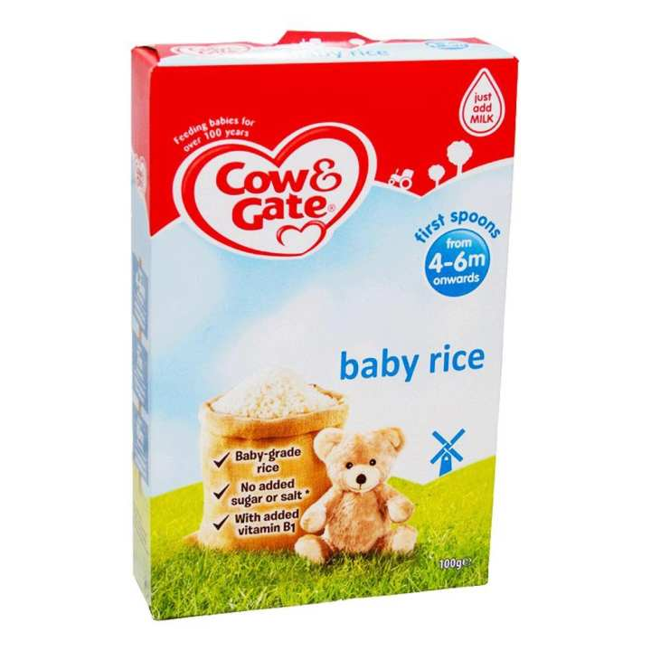 Cow N Gate Baby Rice Cereal 100 gm