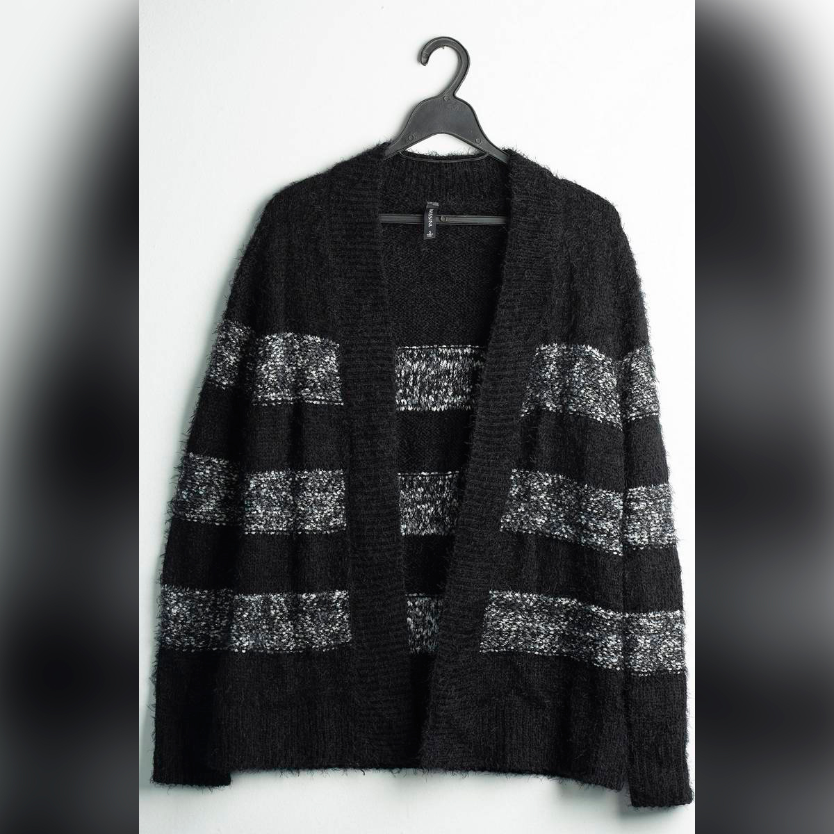 Black and Silver Cardigan