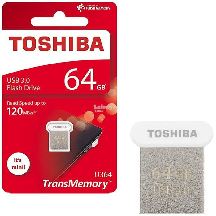 64GB Toshiba Mini / Micro USB Flash Drive TransMemory - U364 - TOWADAKO