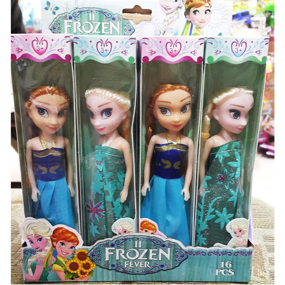 New Anna & Elsa Doll Set Pack of 2 Pieces - AE