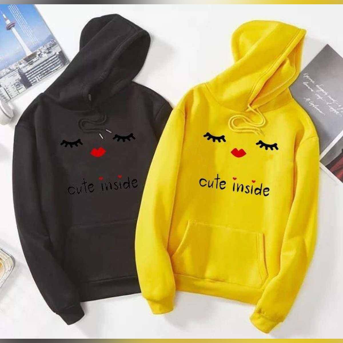 Full Sleeves Sweatshirts / Hoddie for girls new and stylish Winter Wear ,Round Neck