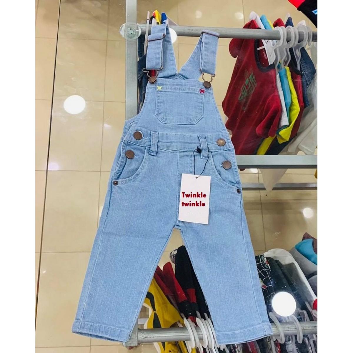 Gorgeous denim jeans romper in 5 shades