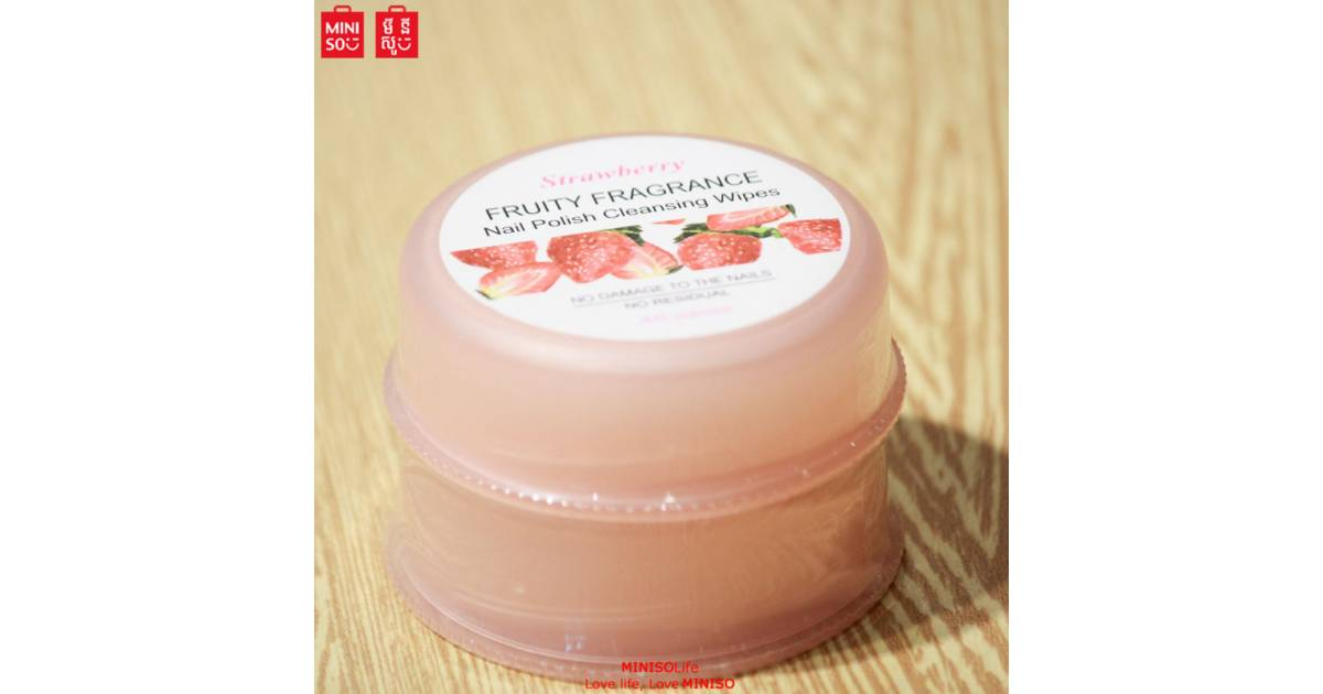 Miniso Nail Polish Cleansing Wipes Strawberry Fragrance Buy Online At Best Prices In Pakistan Daraz Pk