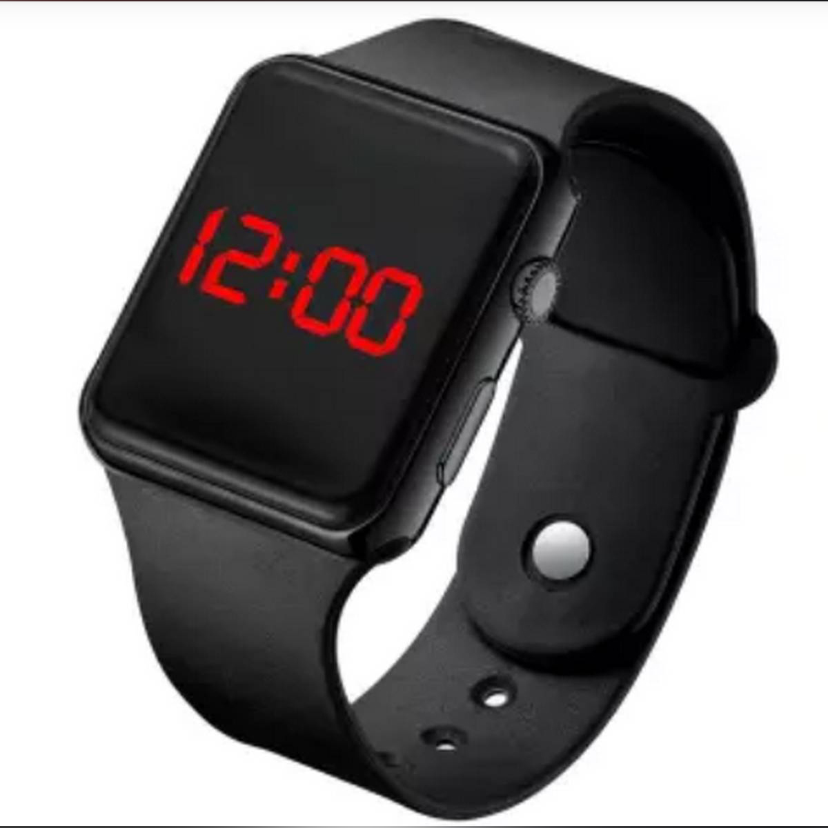 Sport Silicone LED Watches Fashion Hot Selling Wrist Watch Digital Cool Gift Clock