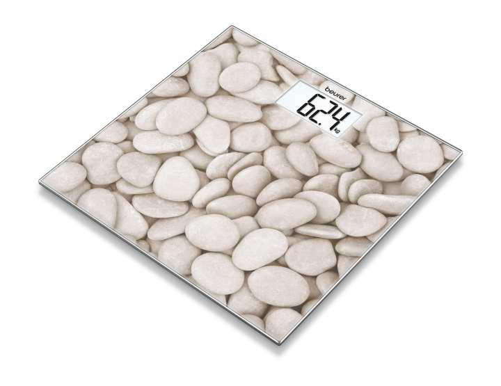 GS 203 Stone glass bathroom scale