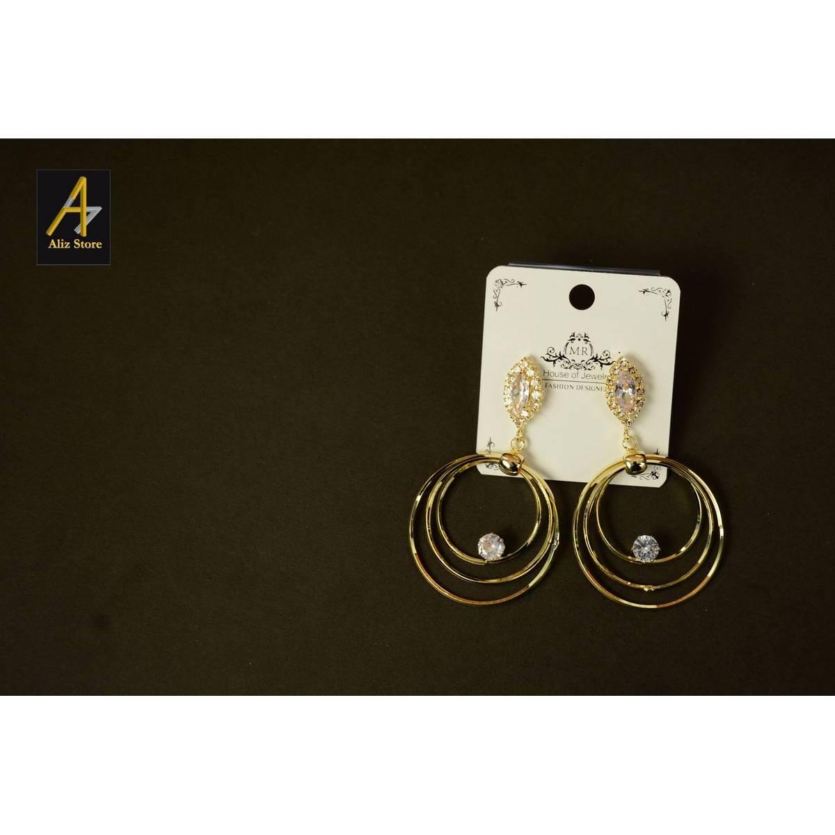 New hoops style earrings drop earrings earrings for girls earrings for women fashion jewellery trending online jewellery