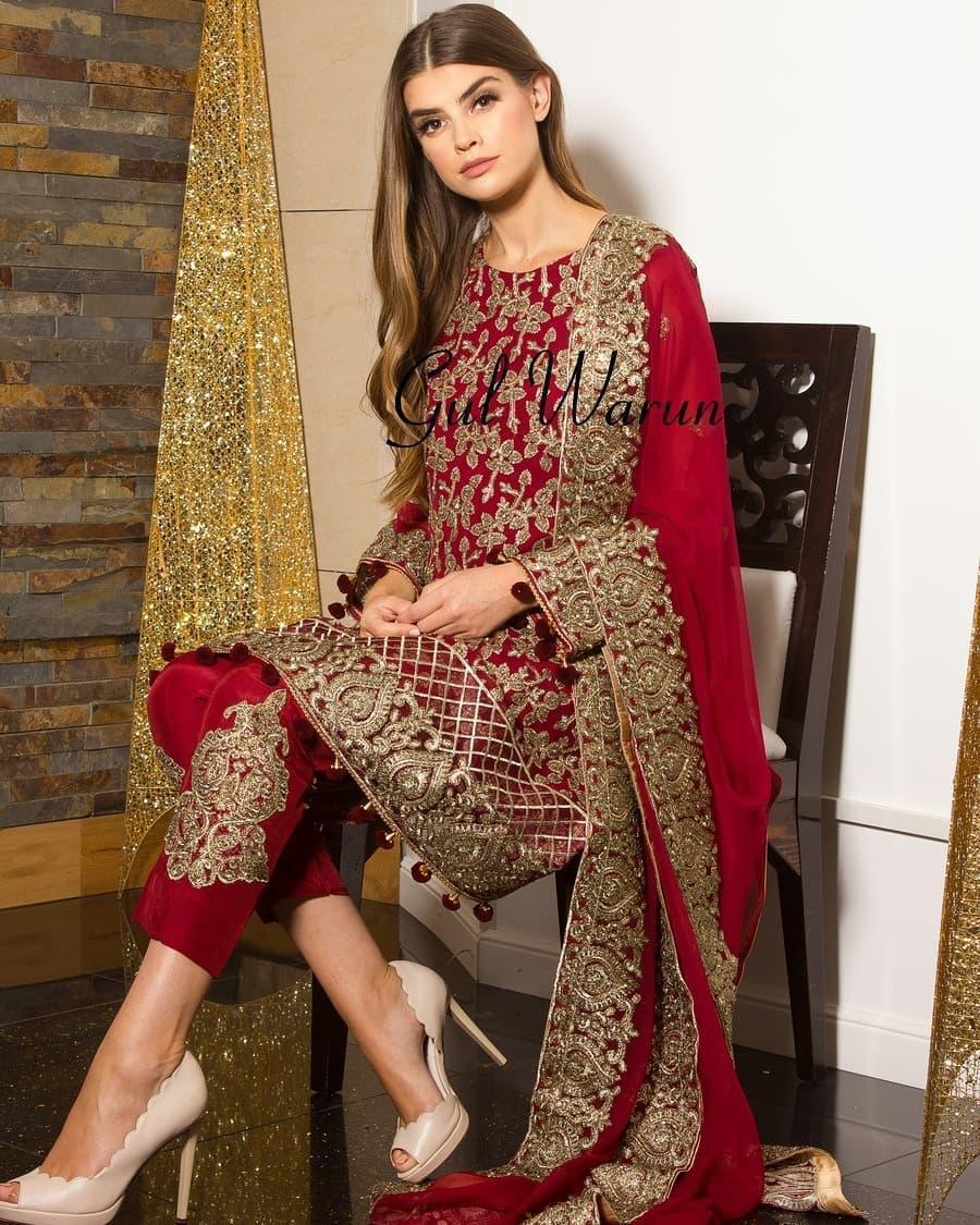 Wedding Dresses In Karachi Pakistan