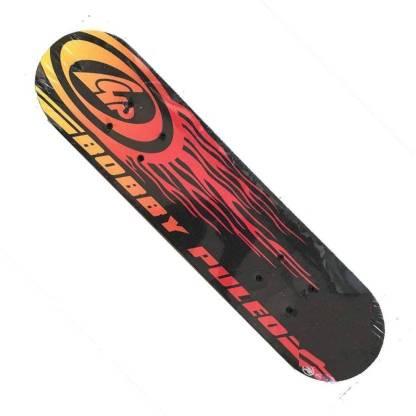 "Large Wooden Skating Board Skate Board 17"" inch (44 cm)-Multicolor 17 inch x 5 inch Skateboard  (Multicolor, Pack of 1)"