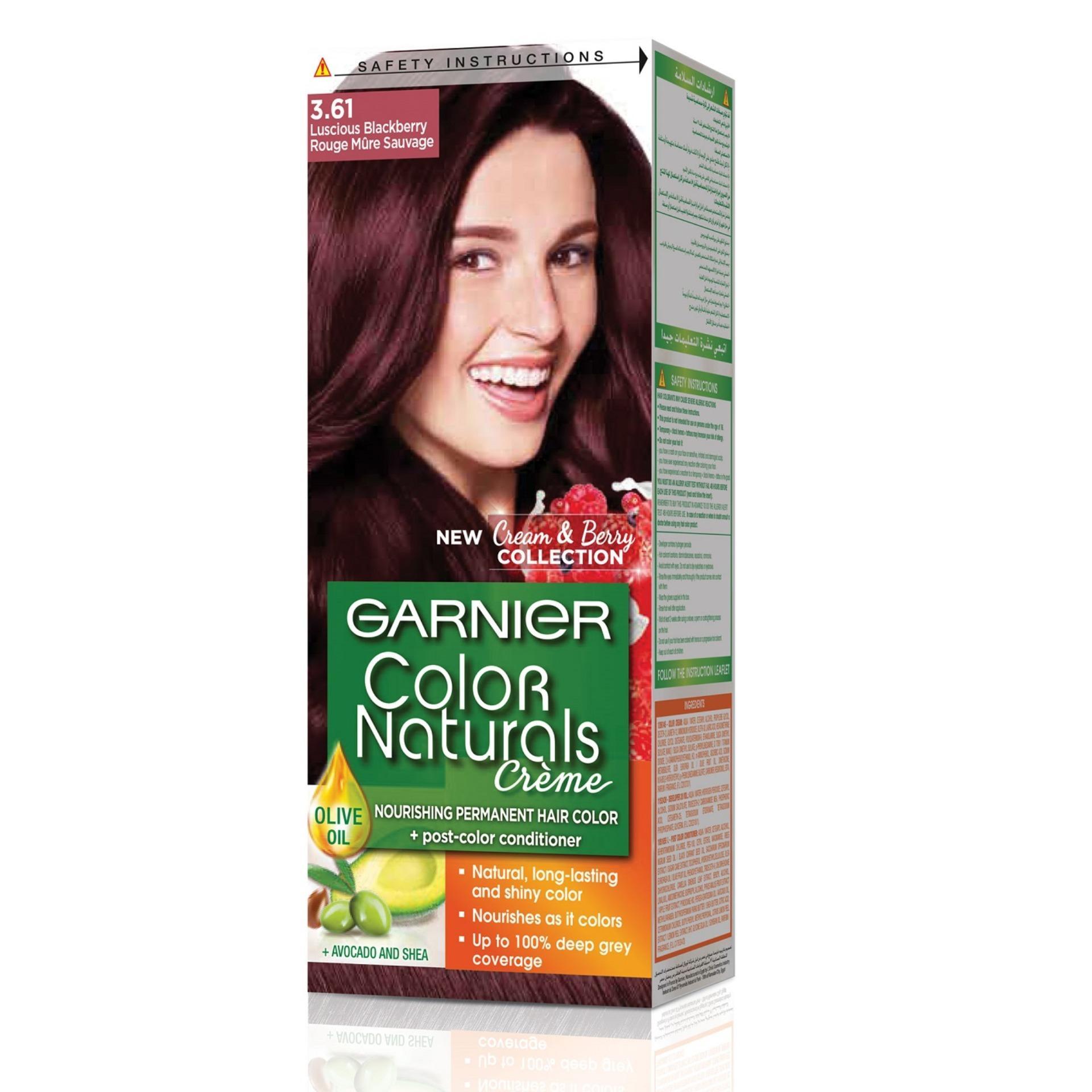 Garnier Color Naturals 3.61 Luscious Blackberry Hair Color