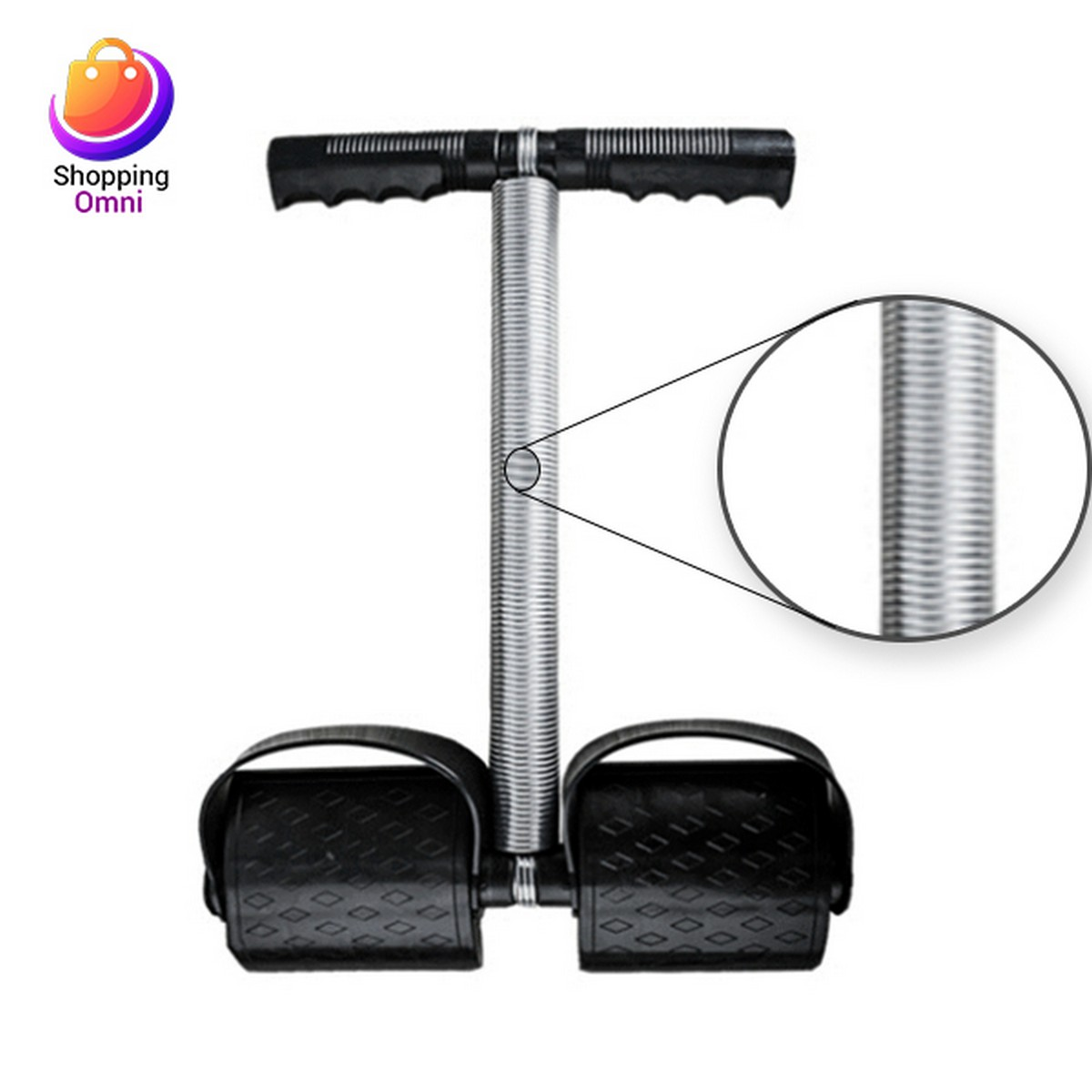High Quality Tummy Trimmer Single Spring Exercise Home Gym Belly Fat Burner Body Fitness Weight Loss Home Gym 13-Inches Single Spring Quick Belly Fat Loss Trimmer Machine For Men and Women