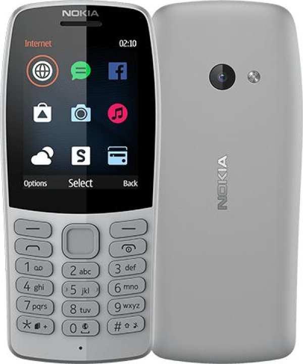 "Nokia 210 Mobile Phone - 2.4"" - 16MB RAM"