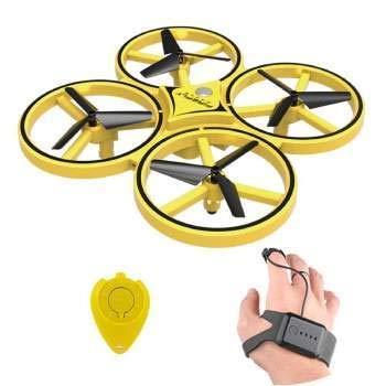 Rc Drone Quadcopter Hand Control RC Drone 2.4G Gravity Sensor - Yellow