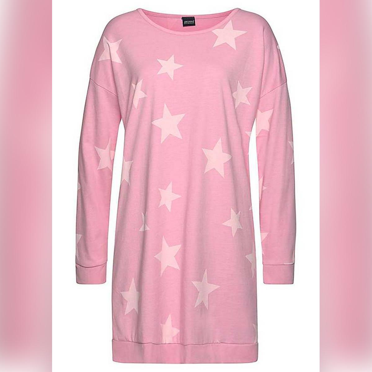 P1 pink long shirt long selvesladies