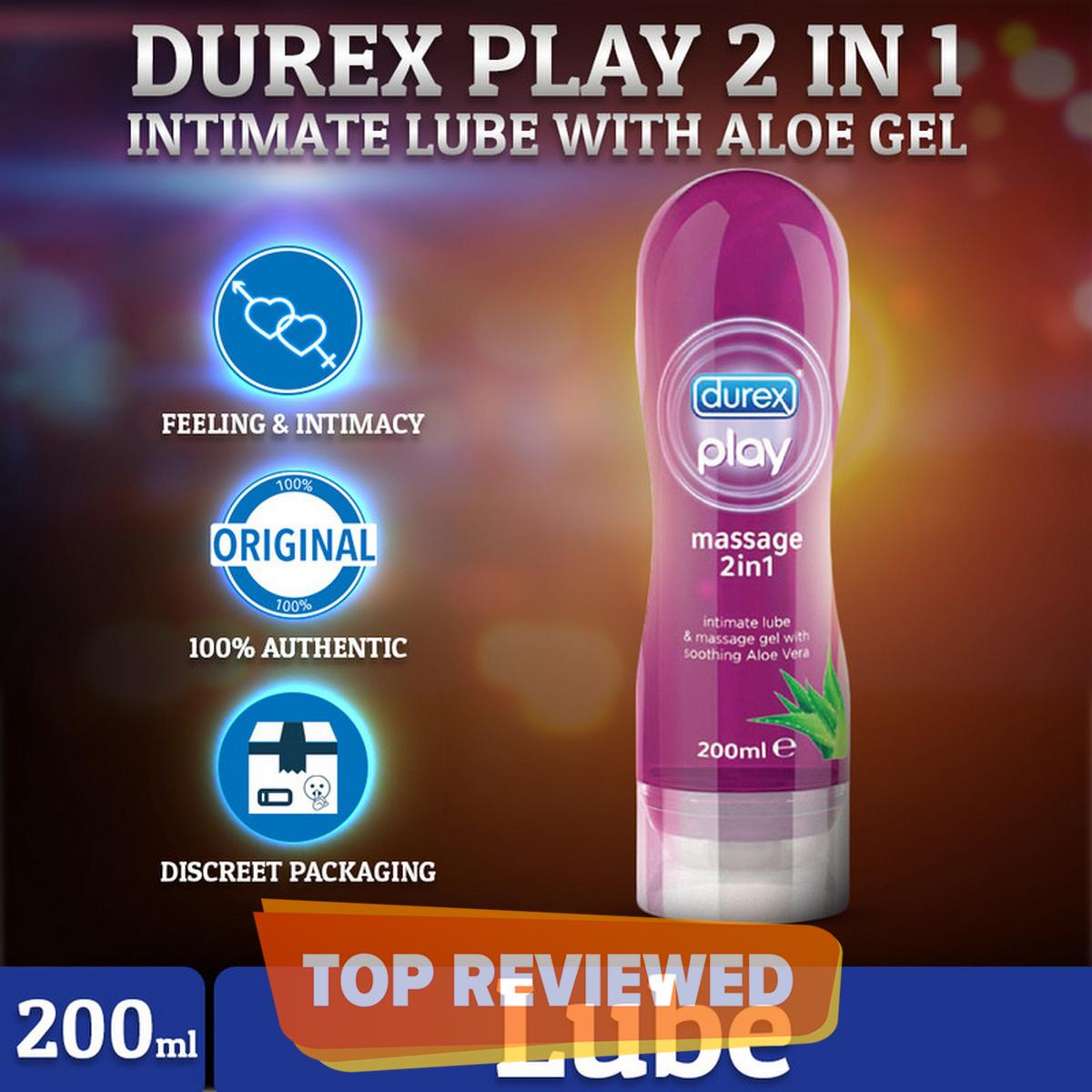 Durex  Play 2 in 1 Soothing Aleo Gel 200 ml Lube