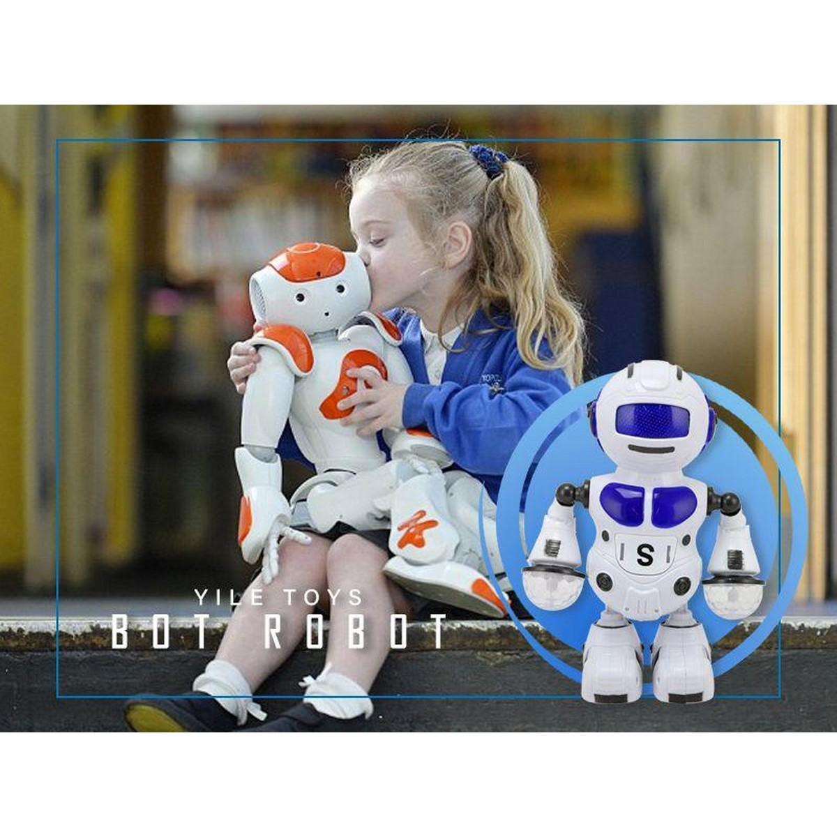 Electronic Walking Dancing To Drum Smart Bot Robot Toy