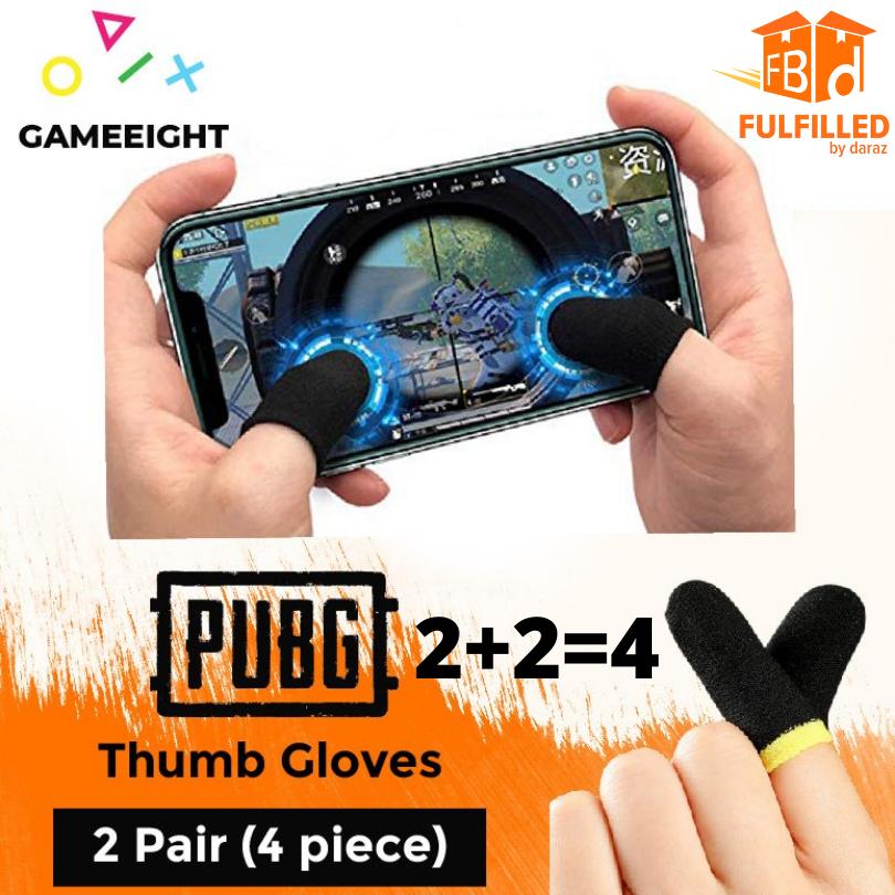 2 Pair / 4 Gloves Pubg Thumb Gloves Finger Sleeve Pubg Triger Trigger