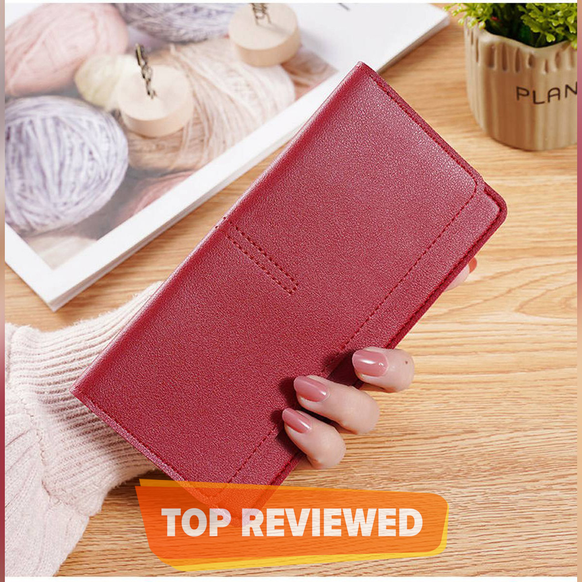 Stylish mobile wallet for women girls - ladies purse hand cardholder long women's wallet