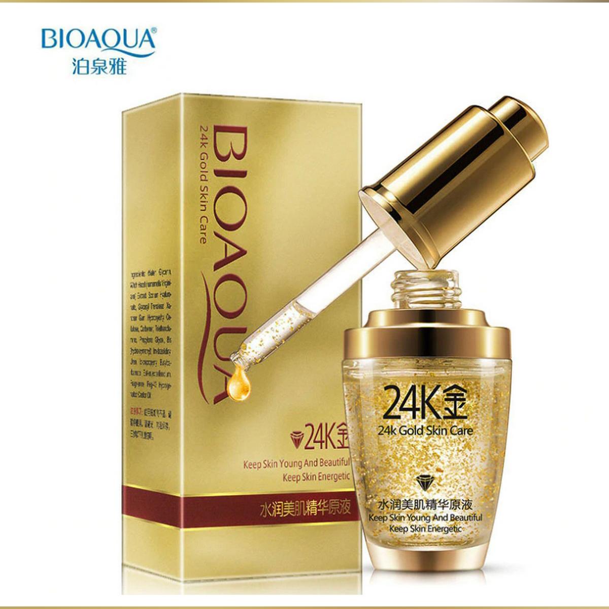 BIOAQUA- 24K Gold Skin Energetic Care 30ml-BQY0887
